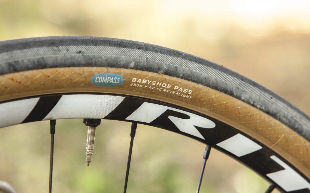 Test pneus : Compass Babyshoe Pass Extralight