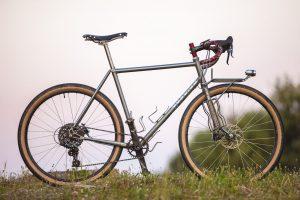 C-Cyles Adventurer -Handmade Steel bicycle