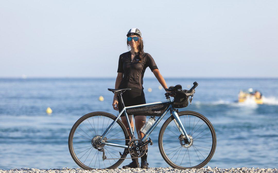 Fanny's long distance racing bike